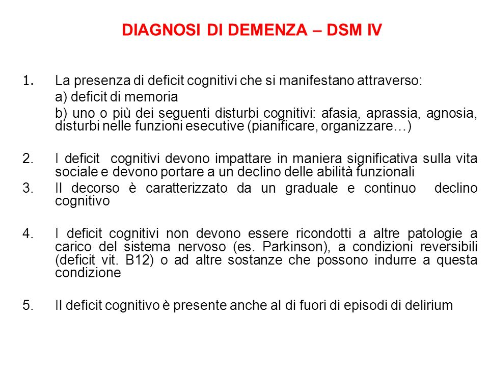 COME VALUTARE IL RISCHIO DI DELIRIUM Allammissione in ospedale The study demonstrated that a simple predictive model based on the presence of 5 precipitating factors can be used to identify older medical patients at high risk for development of delirium during hospitalisation.
