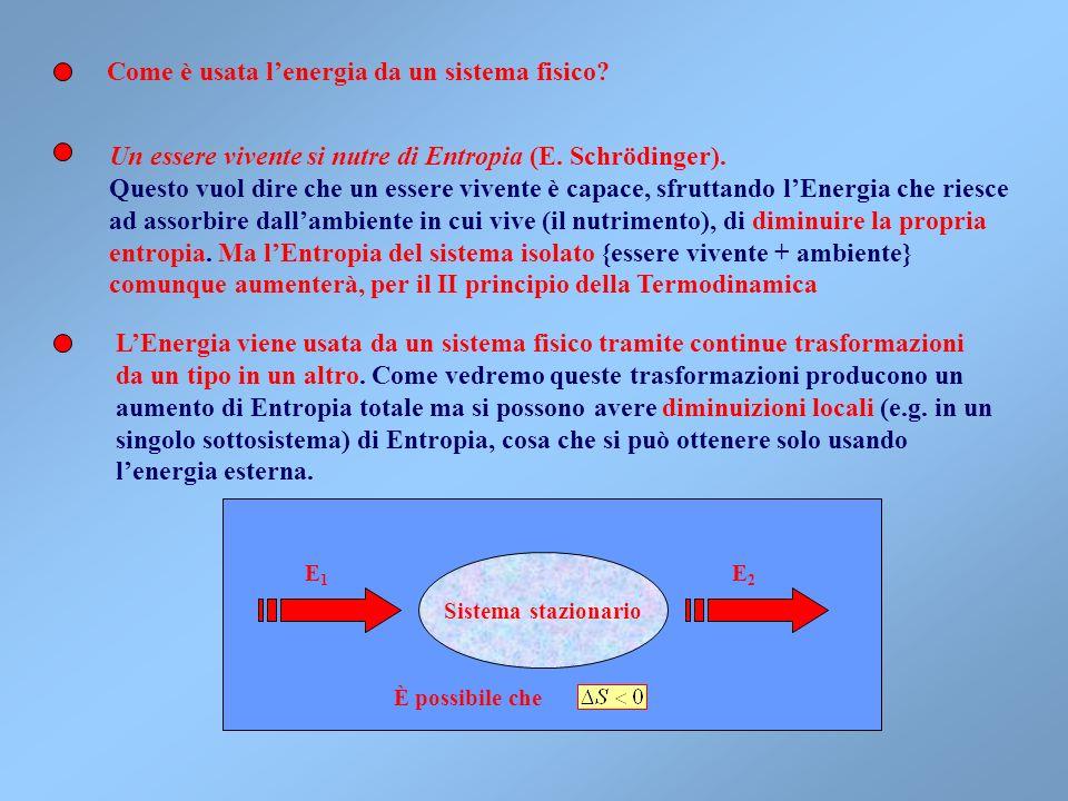 Lequilibrio termico assoluto è statico, ma fortunatamente esistono altre forme di equilibrio dinamico o stazionario La stazionarietà è, per esempio, c