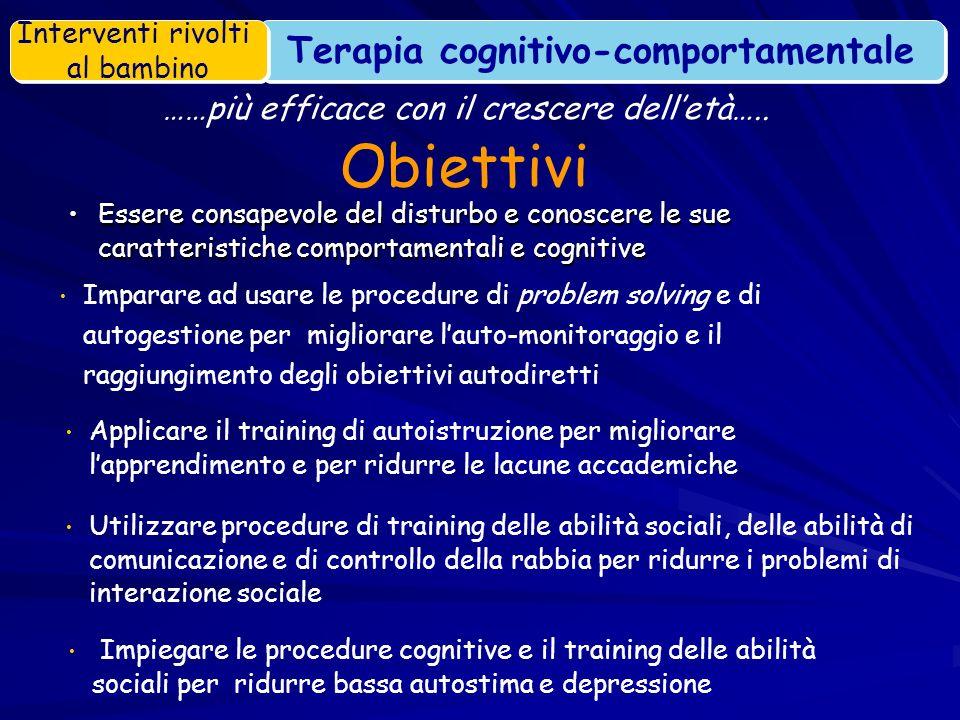 Essere consapevole del disturbo e conoscere le sue caratteristiche comportamentali e cognitiveEssere consapevole del disturbo e conoscere le sue carat