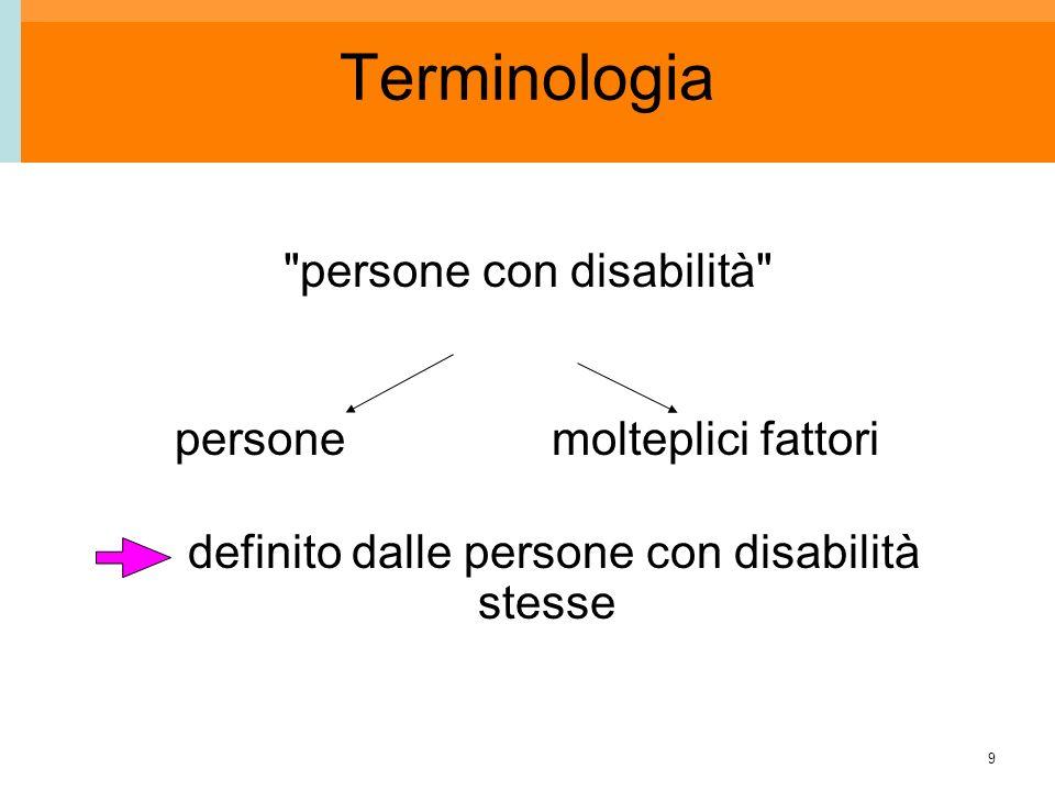 9 Terminologia