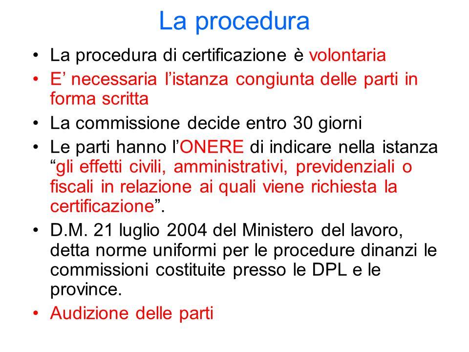 Sindacato giudiziale e licenziamento (art.30 co.