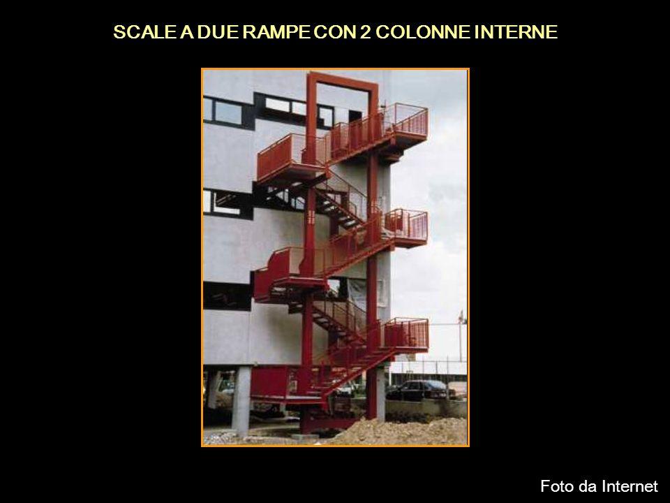 SCALE A DUE RAMPE CON 2 COLONNE INTERNE Foto da Internet