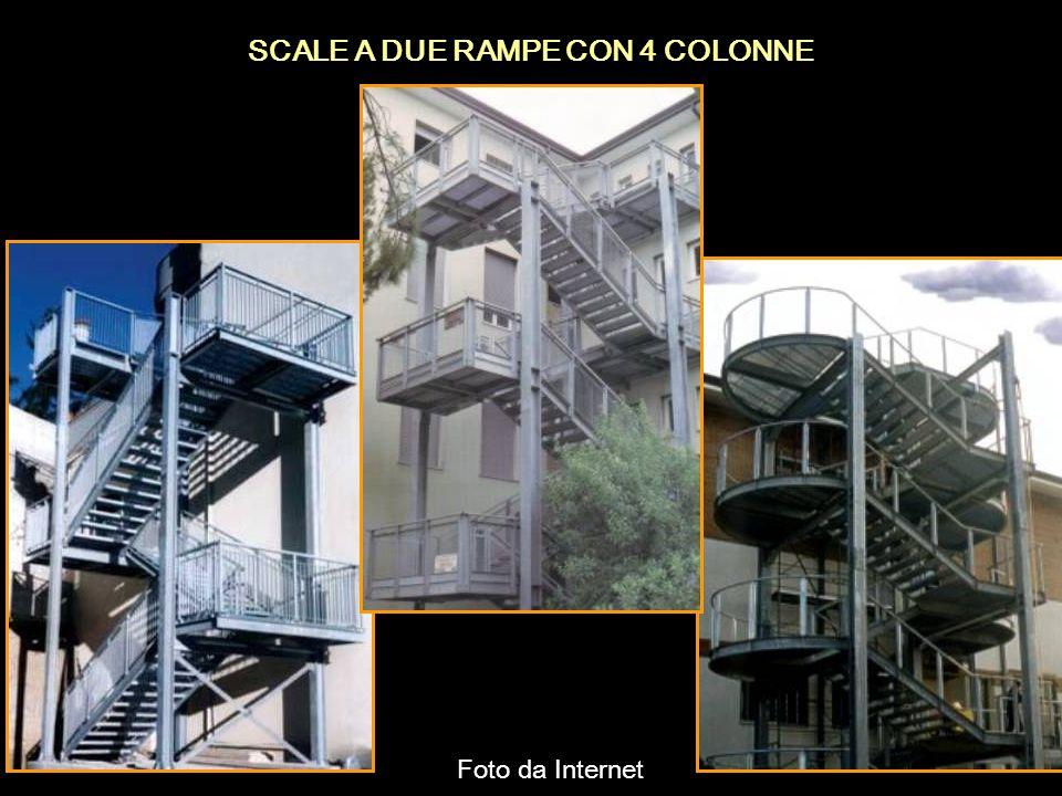 SCALE A DUE RAMPE CON 4 COLONNE Foto da Internet