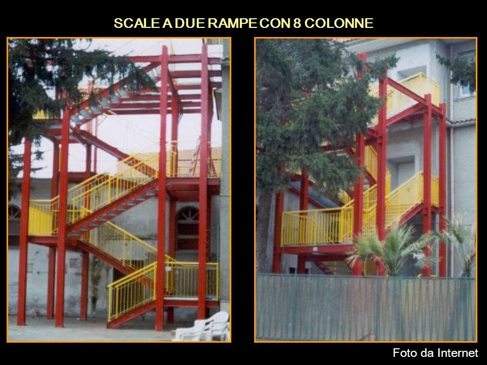 SCALE A DUE RAMPE CON 8 COLONNE Foto da Internet