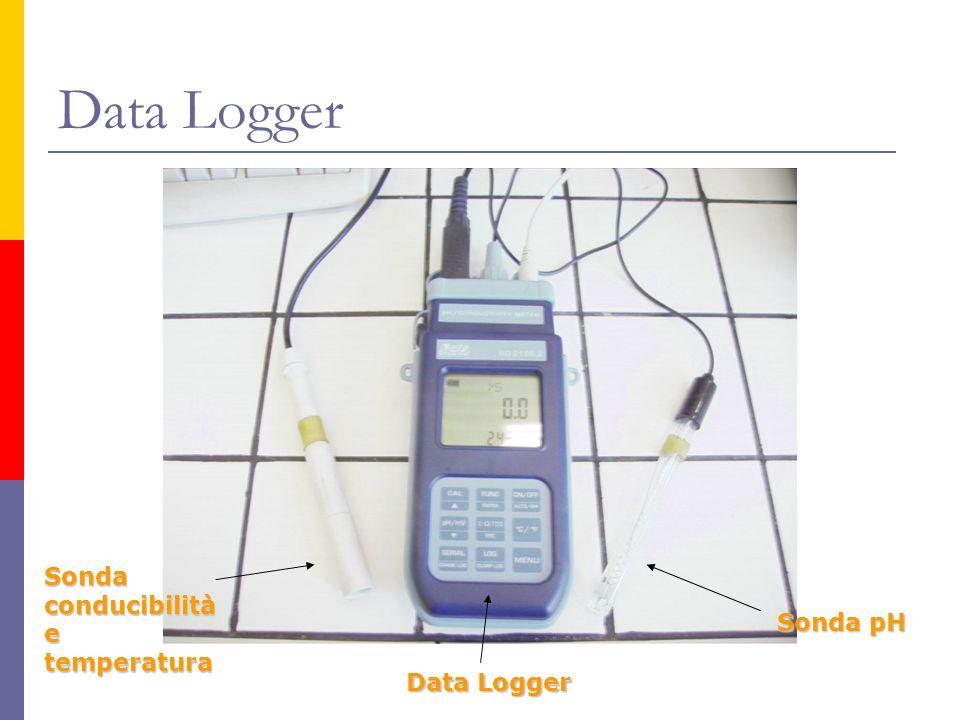 Data Logger Sonda conducibilità e temperatura Data Logger Sonda pH