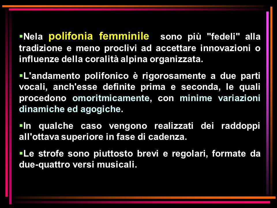 Nela polifonia femminile sono più