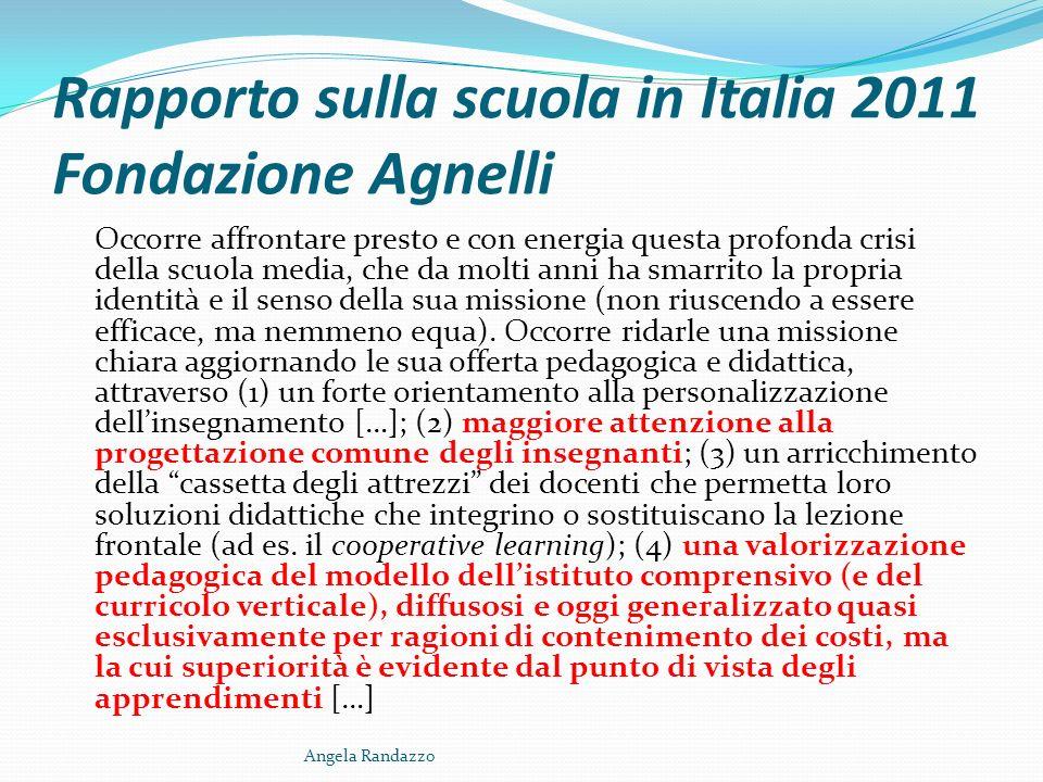 I concetti fondanti di un Istituto Comprensivo Identità Cooperazione Angela Randazzo