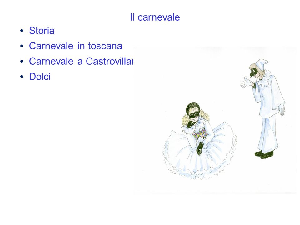 Il carnevale Storia Carnevale in toscana Carnevale a Castrovillari Dolci