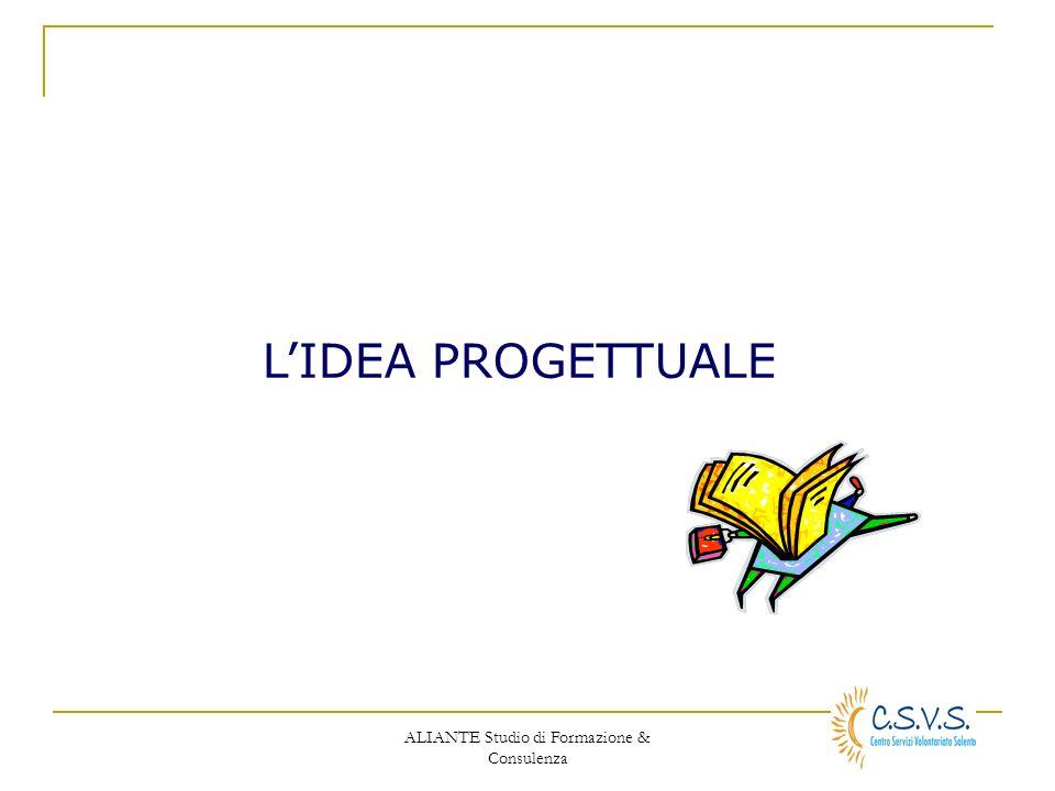 ALIANTE Studio di Formazione & Consulenza LIDEA PROGETTUALE