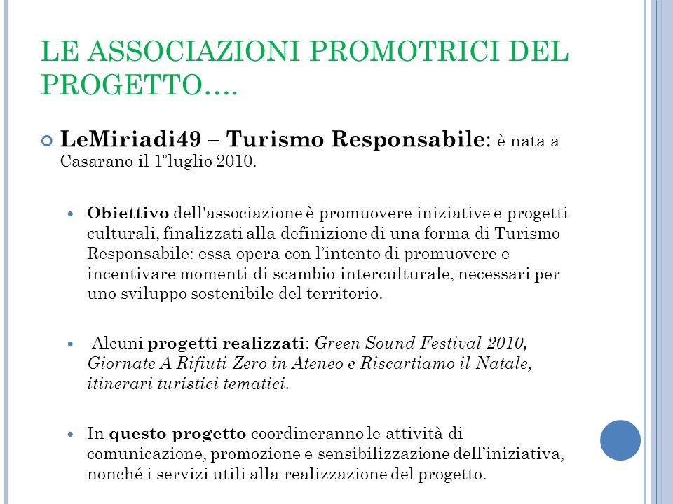 ANALISI DEL CONTESTO Analisi del contesto strategico La provincia di Lecce NON è ad oggi dotata di uno STRUMENTO mirato alla sostenibilità delle manifestazioni.