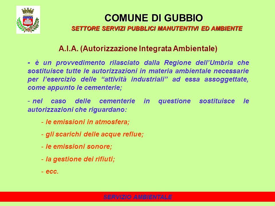 SERVIZIO AMBIENTALE A.I.A.