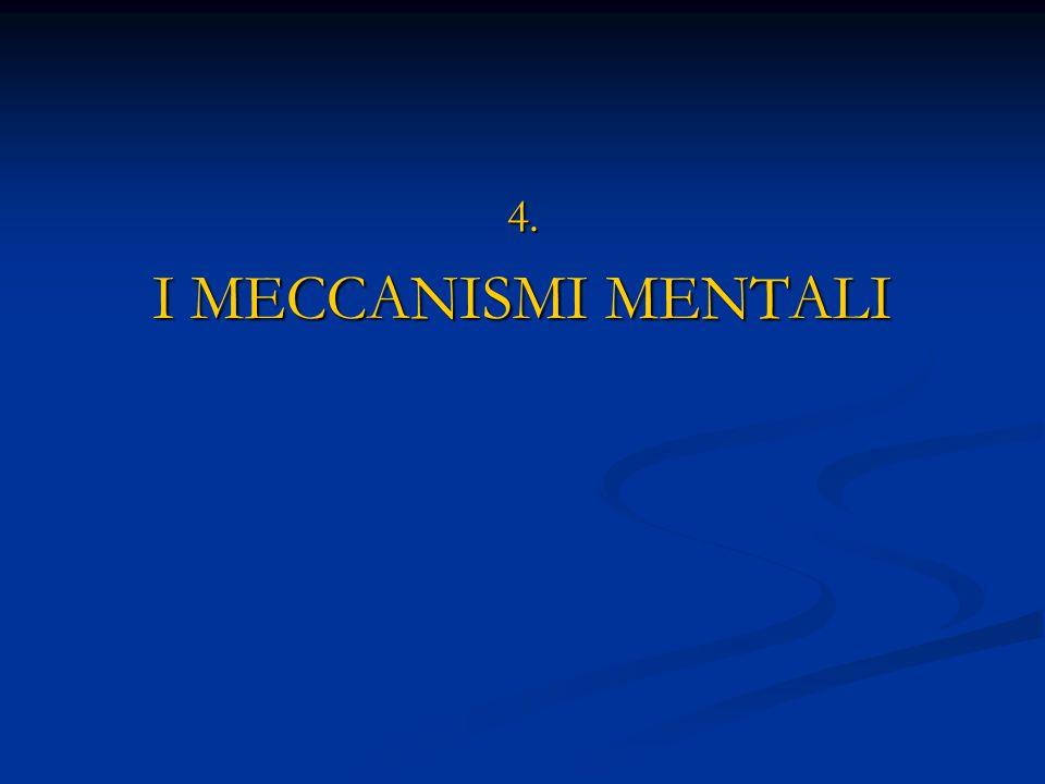 4. I MECCANISMI MENTALI