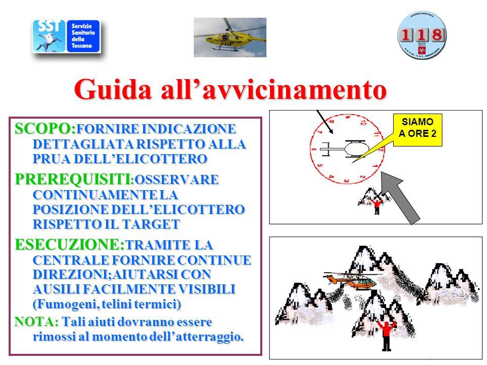 Scelta e preparazione del punto di atterraggio SCOPO: Individuare siti idonei allatterraggio per un sicuro e celere svolgimento delle operazioni di soccorso.