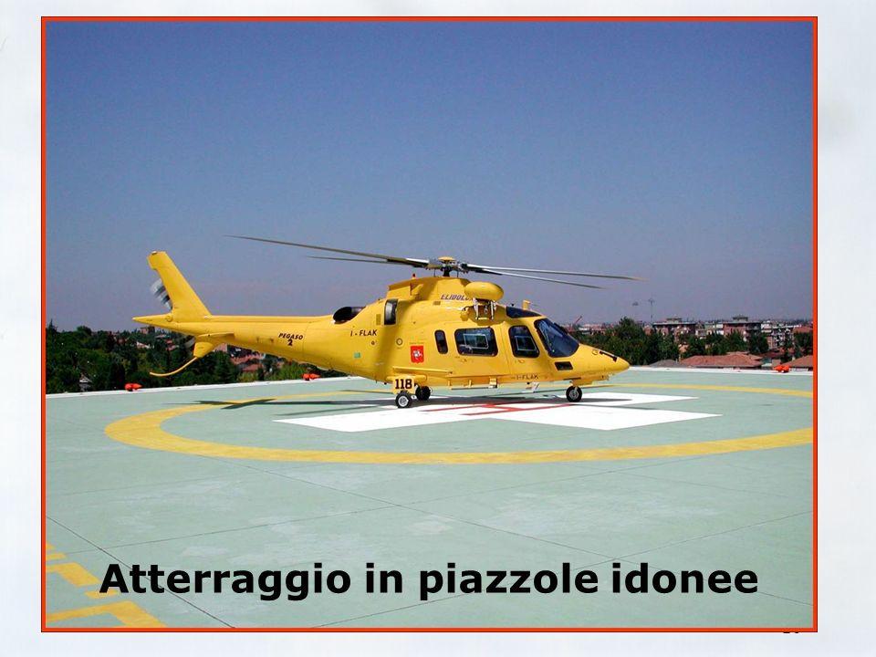 Elidolomiti srl 9 Scelta del luogo d'atterraggio Piazzole