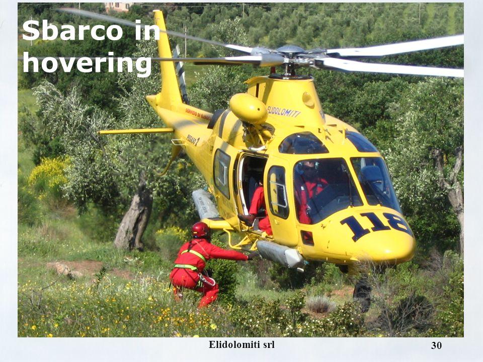 Elidolomiti srl 29 Sbarco in hovering