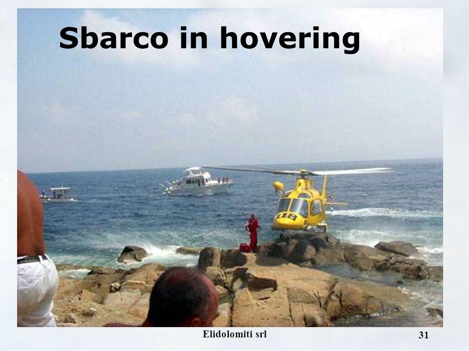 Elidolomiti srl 30 Sbarco in hovering
