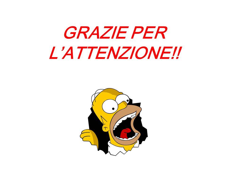 GRAZIE PER LATTENZIONE!!