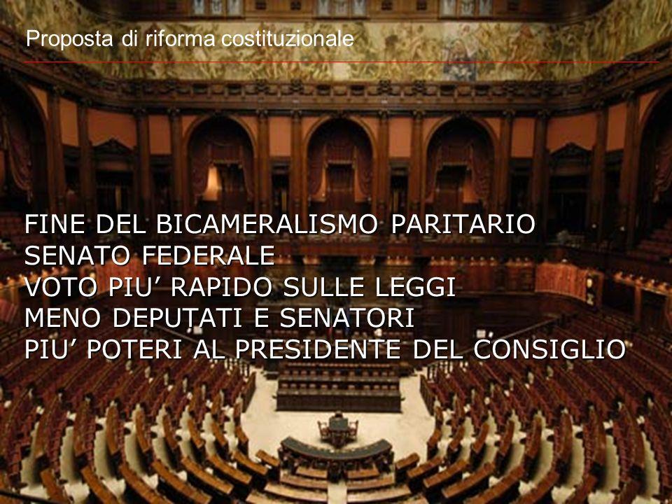 Proposta di riforma costituzionale in discussione alla Commissione affari costituzionali della Camera