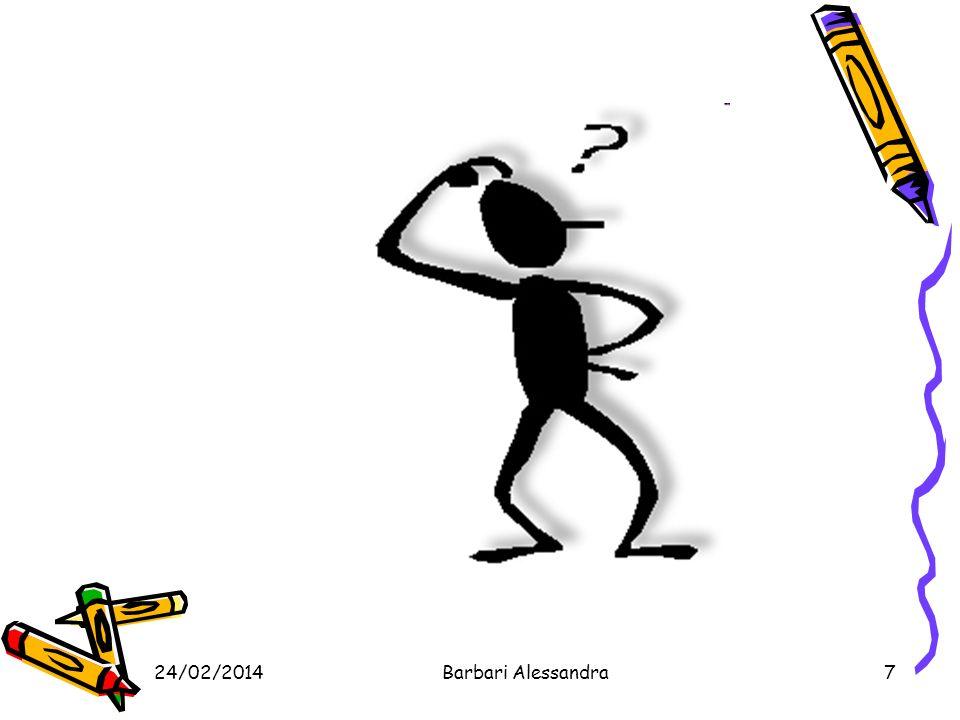 24/02/2014Barbari Alessandra58 INCIDENTI STRADALI