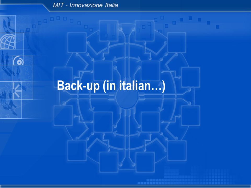 MIT - Innovazione Italia Back-up (in italian…)