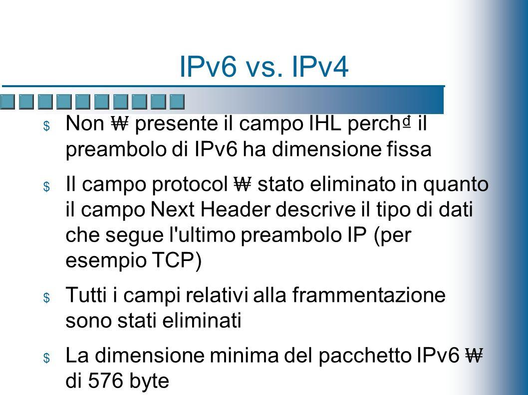 IPv6 vs.