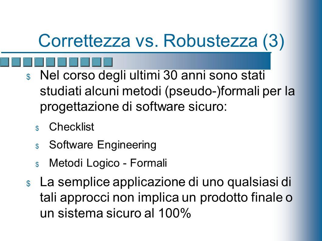 Correttezza vs.