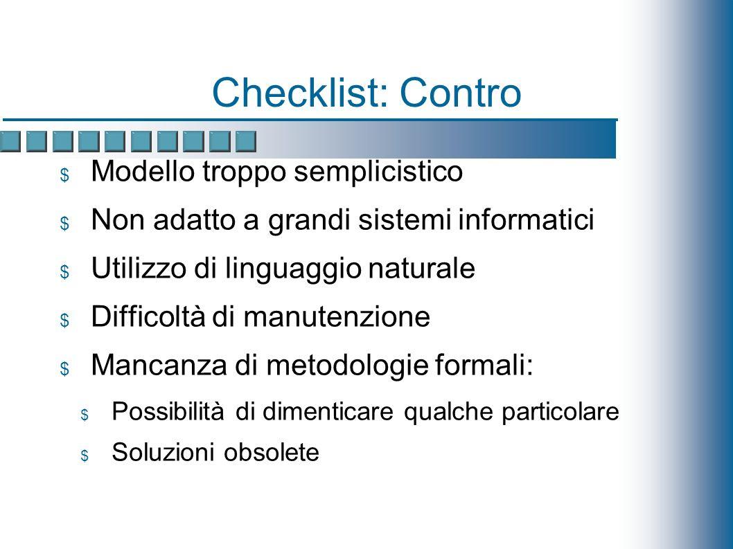 Software Engineering: Caratteristiche Modelli di progettazione molto simili a quelli utilizzati in IS per la progettazione e la realizzazione del software Esempio: modello di Fisher (1984) Inventario dei dati da proteggere Identificazione dei punti deboli del sistema Analisi dei rischi Progettazione dei controlli Analisi costi-benefici