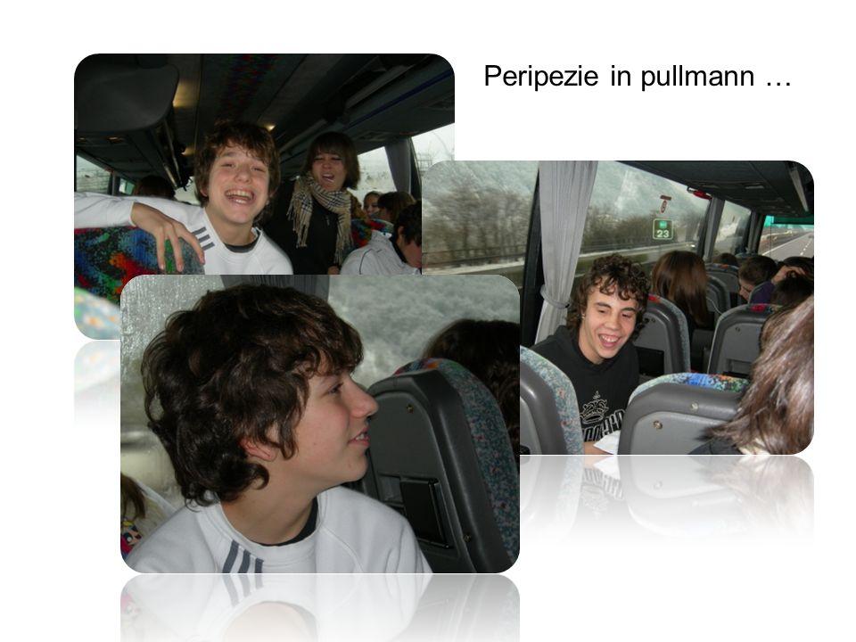 Peripezie in pullmann …