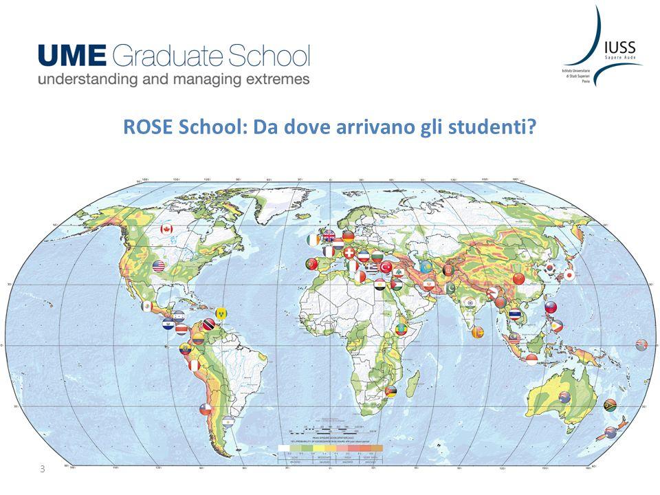 ROSE School: Da dove arrivano gli studenti? 3