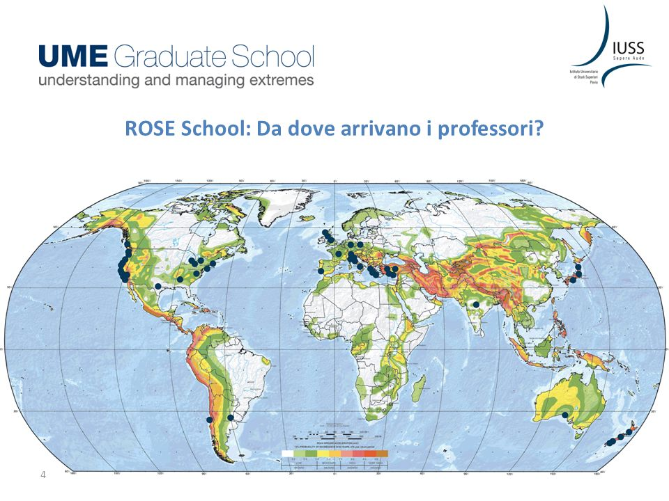ROSE School: Da dove arrivano i professori? 4