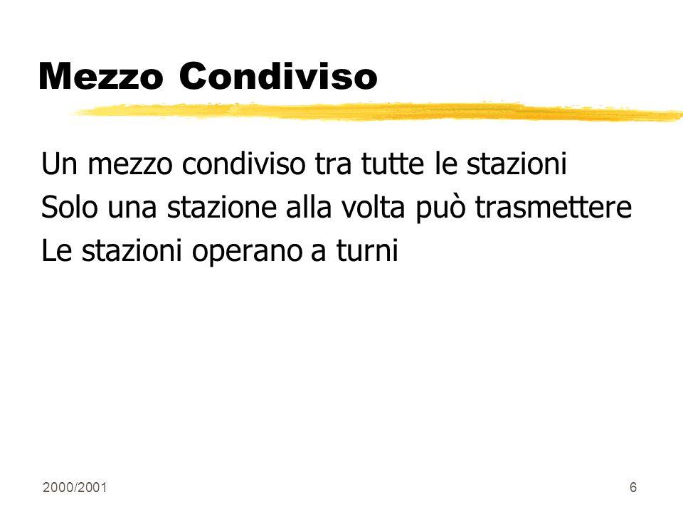 2000/200117 Spazio Tempo Discreto Si definisce come unità di tempo il ritardo di andata e ritorno tra le stazioni più lontane.