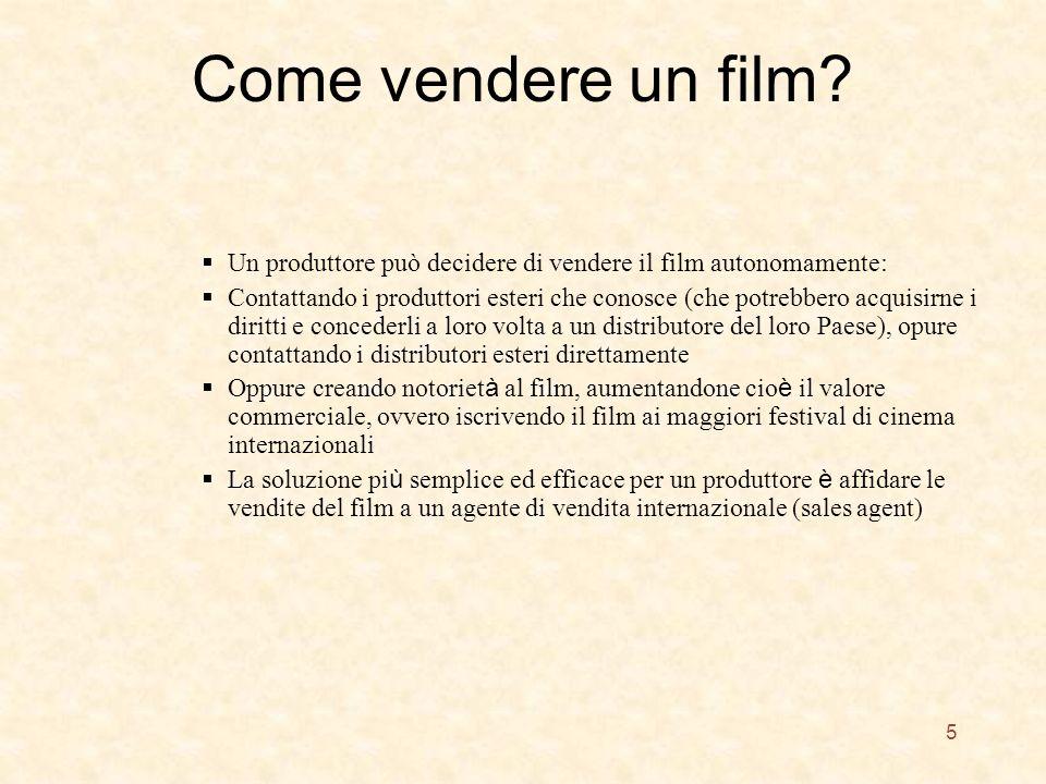Come vendere un film.