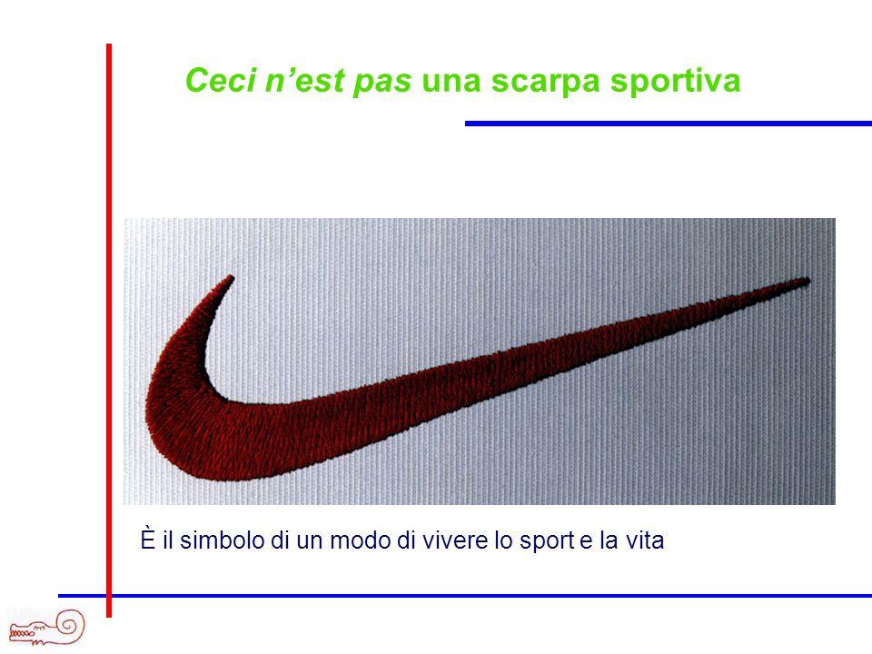 Ceci nest pas una scarpa sportiva Immagine pipa È il simbolo di un modo di vivere lo sport e la vita