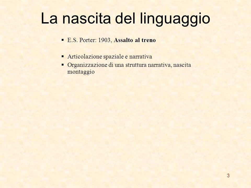 La nascita del linguaggio E.S.