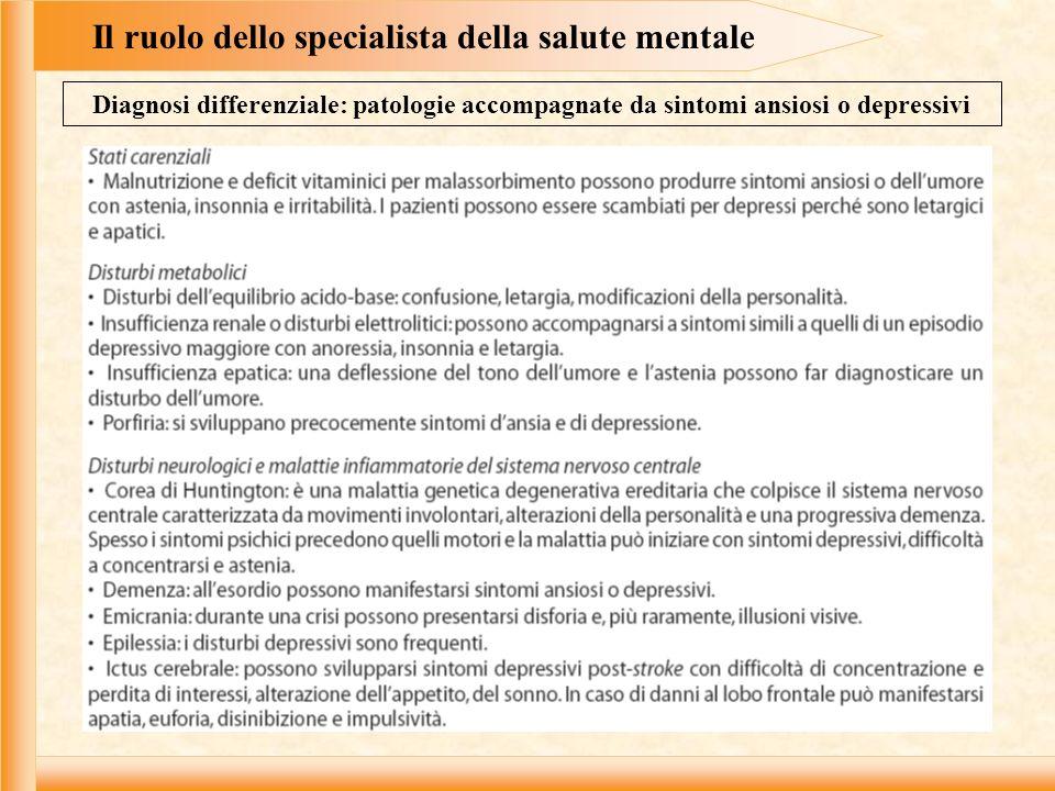 Tecniche di intervento con pazienti adulti Obiettivi della consultazione