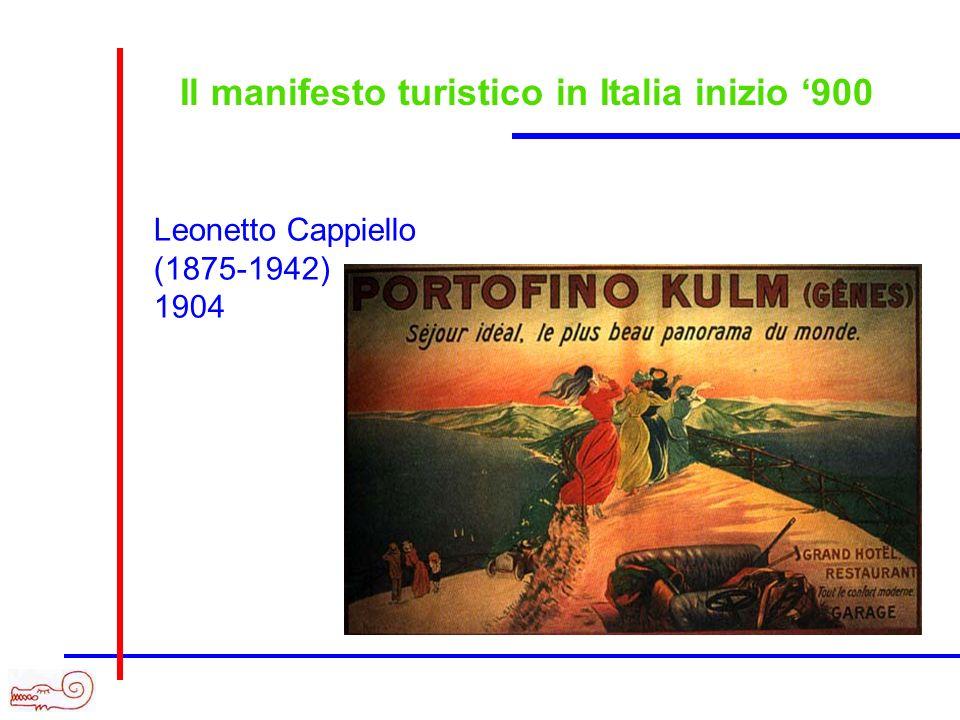 Il manifesto turistico in Italia inizio 900 Leonetto Cappiello (1875-1942) 1904