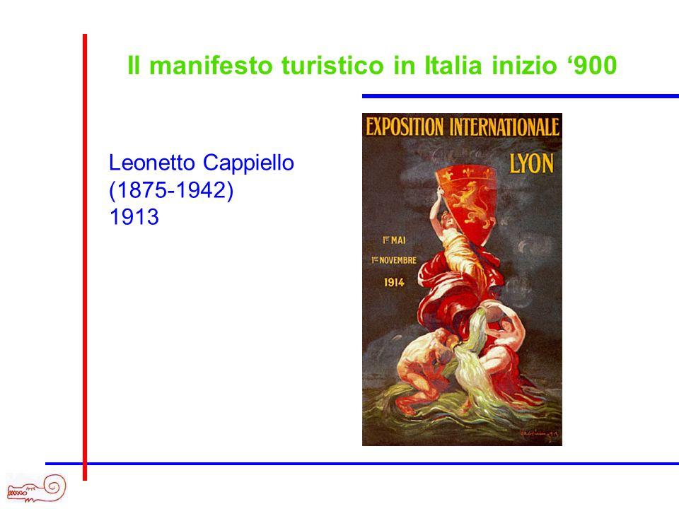 Il manifesto turistico in Italia inizio 900 Leonetto Cappiello (1875-1942) 1913