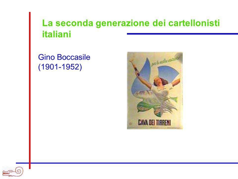 La seconda generazione dei cartellonisti italiani Gino Boccasile (1901-1952)