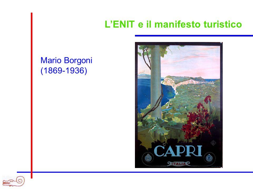 LENIT e il manifesto turistico Mario Borgoni (1869-1936)