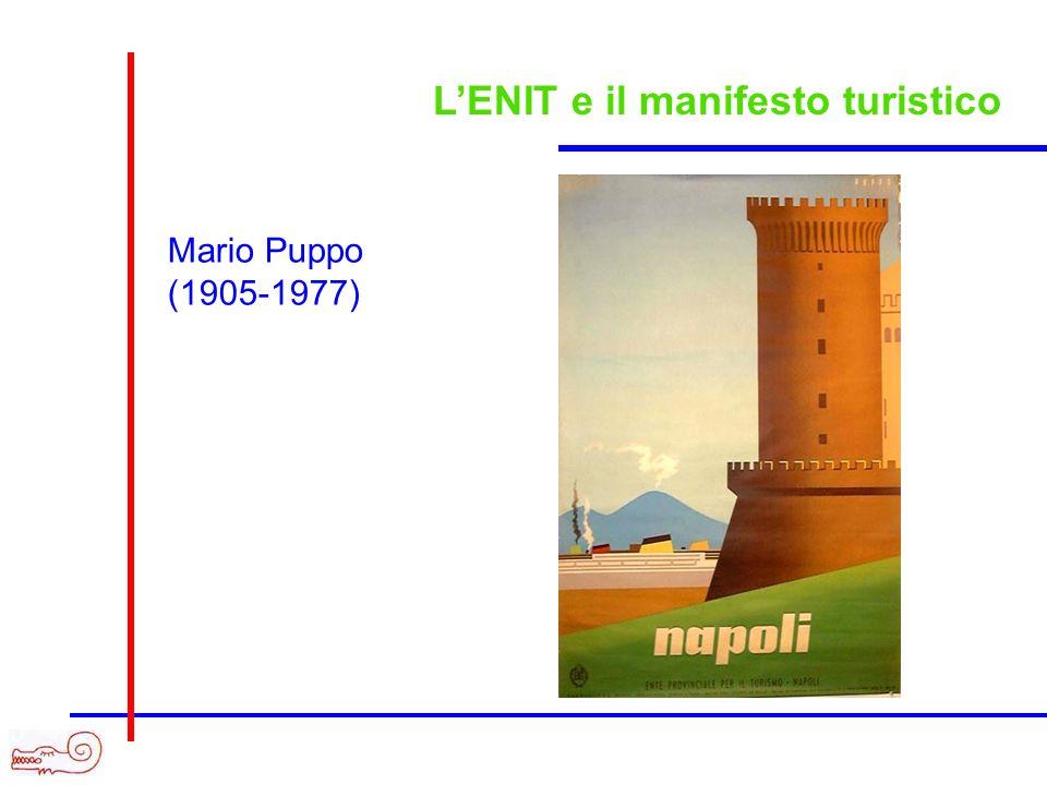 LENIT e il manifesto turistico Mario Puppo (1905-1977)