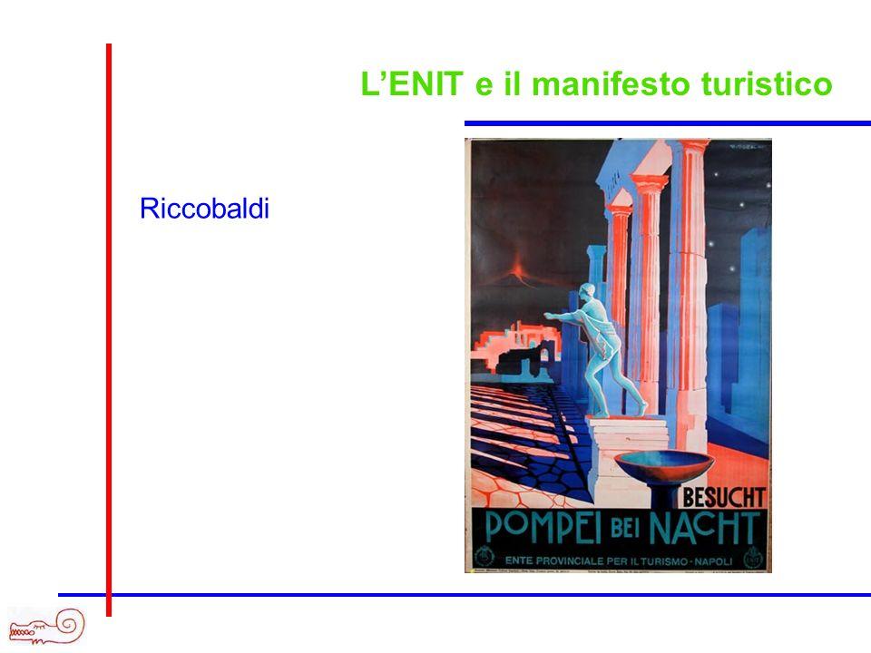 LENIT e il manifesto turistico Riccobaldi