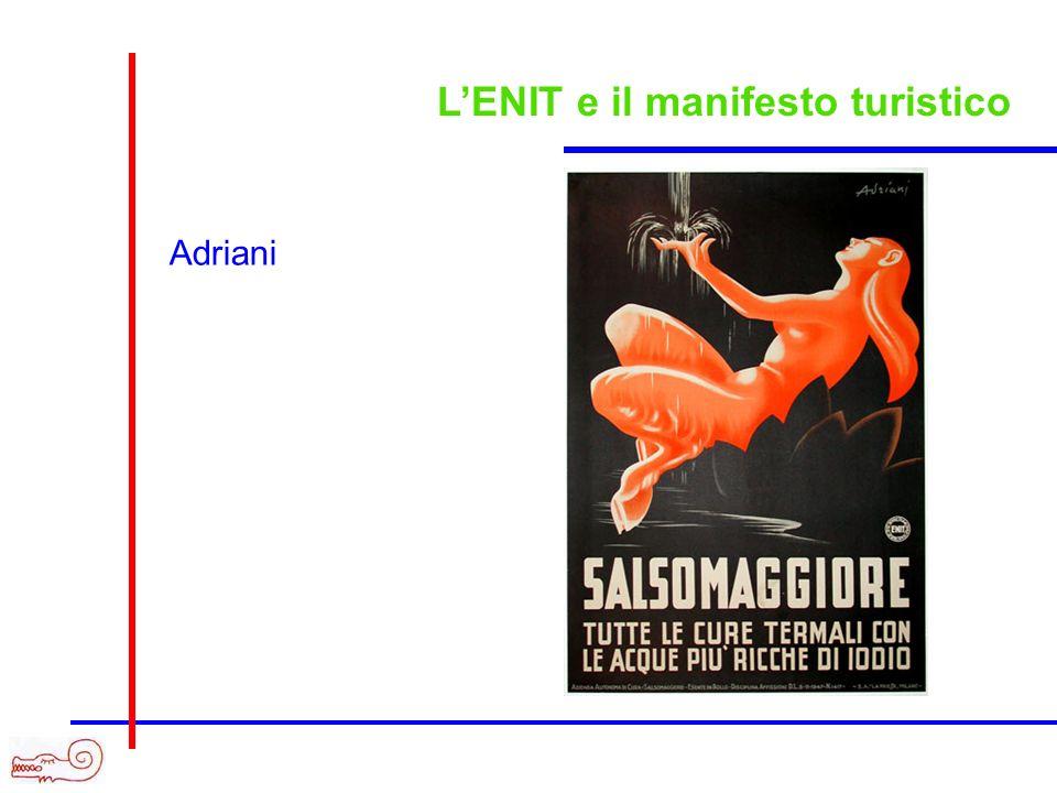 LENIT e il manifesto turistico Adriani