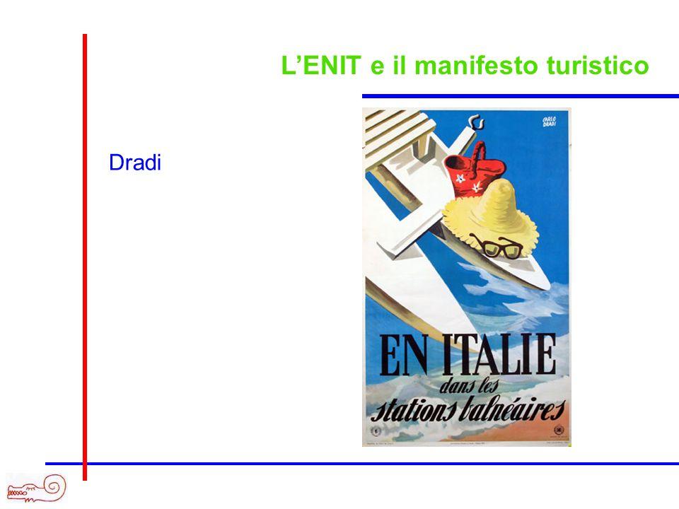 LENIT e il manifesto turistico Dradi