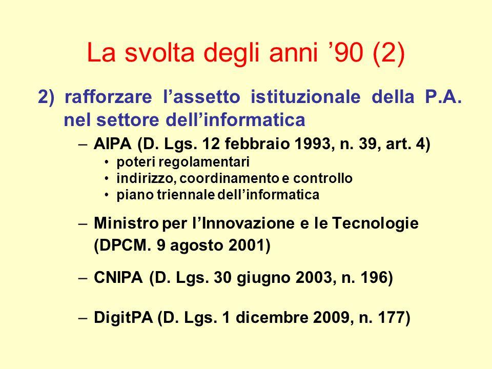 Dematerializzazione dei documenti Art.42 (Recupero dei documenti) 1.