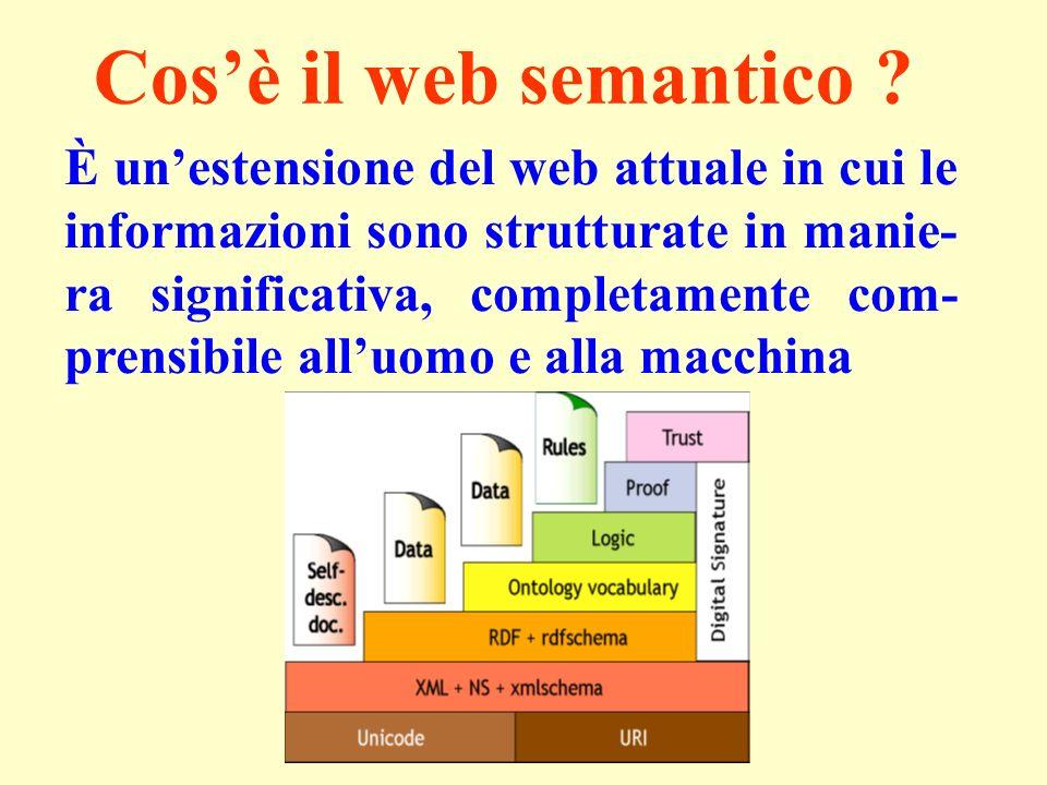 Cosè il web semantico .