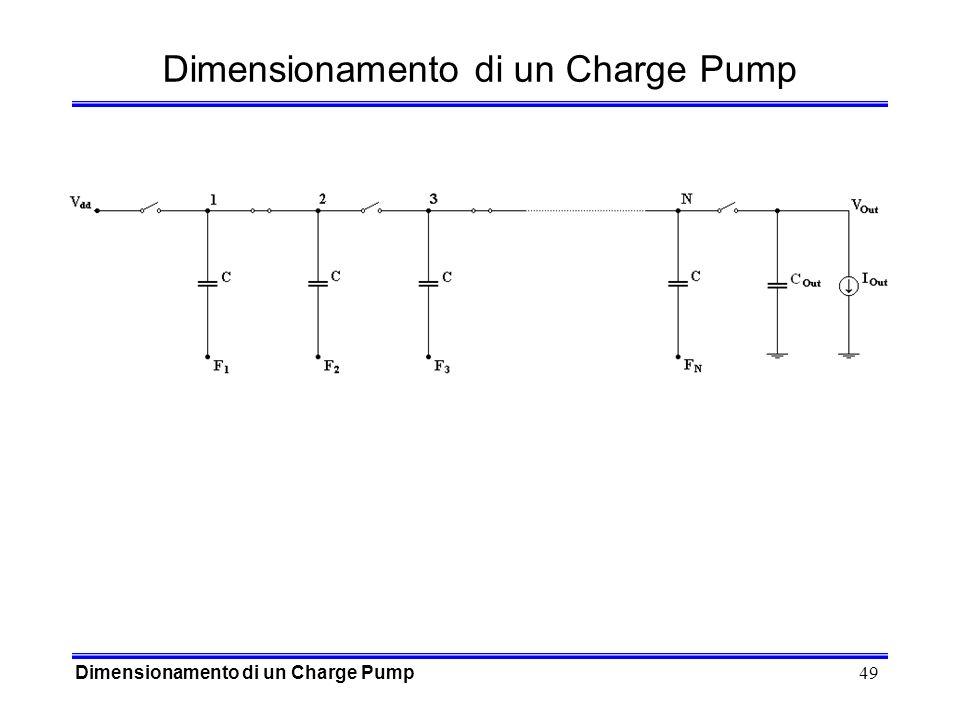 49 Dimensionamento di un Charge Pump