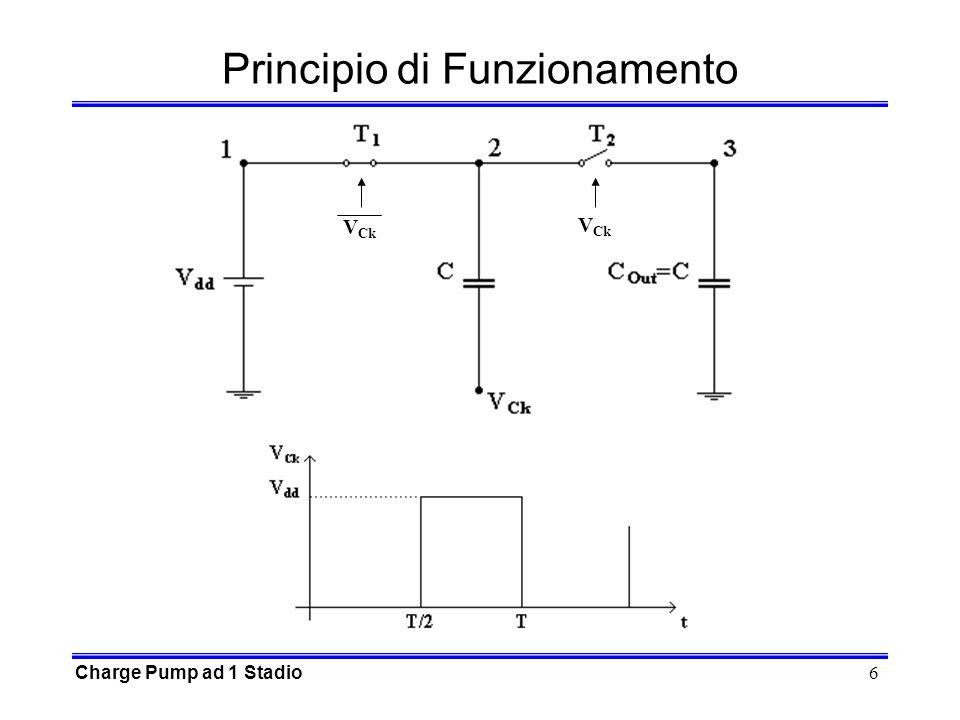 6 Principio di Funzionamento Charge Pump ad 1 Stadio V Ck