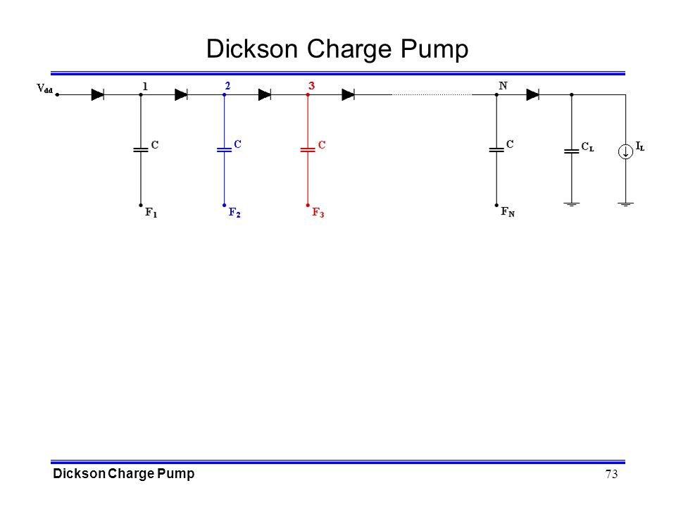 73 Dickson Charge Pump