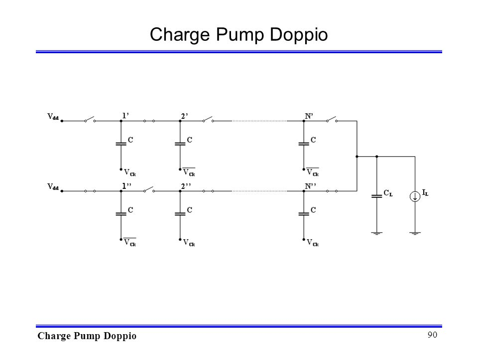 90 Charge Pump Doppio