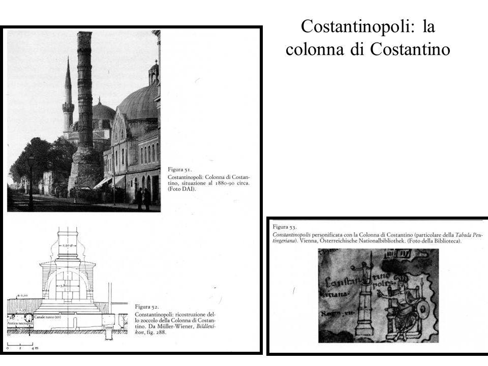 Costantinopoli: la colonna di Costantino
